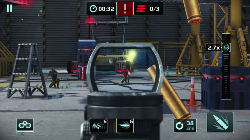 Sniper Fury Android, iOS, Windows Phone