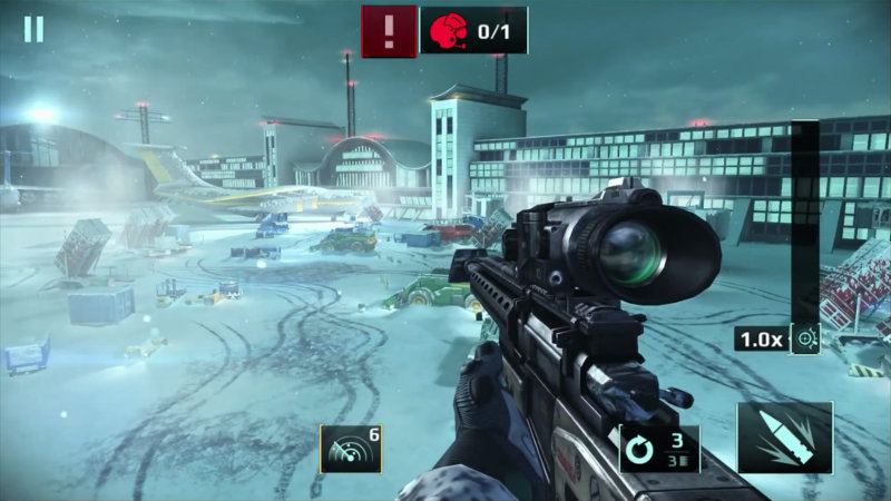 Sniper Fury gameplay