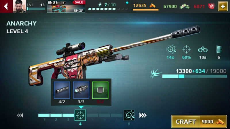 Sniper Fury hack, cheats, tips and tricks